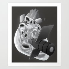 Organa thoracis I Art Print