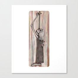 Sword Swallower Canvas Print