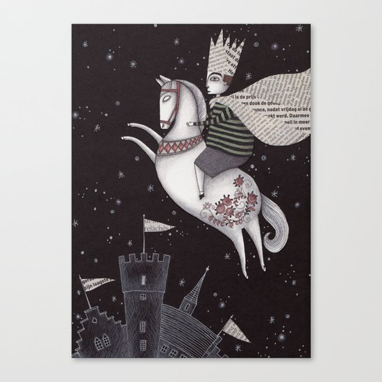 Five Hundred Million Little Bells (1) Canvas Print