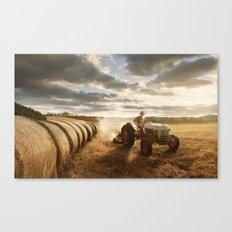 Farmer Canvas Print