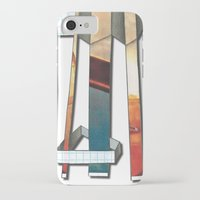 industrial iPhone & iPod Cases featuring Industrial by Shannon Rutherford