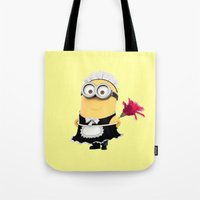 phil jones Tote Bags featuring It's Phil! by Harry Martin