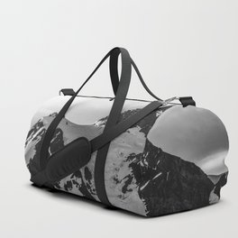 Shuksan Shine Black and White Duffle Bag