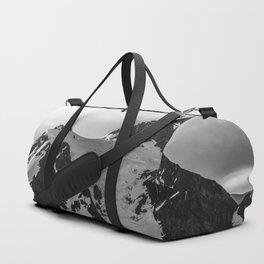 Shuksan Shine Black and White Duffle Bag