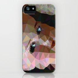 Geometric Doll Head iPhone Case