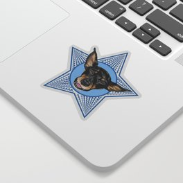 Adopt (Blue) Sticker