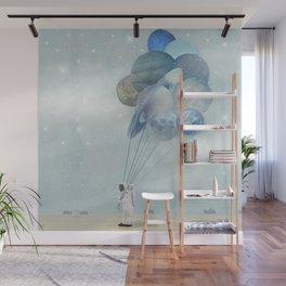 Space Walk Wall Mural
