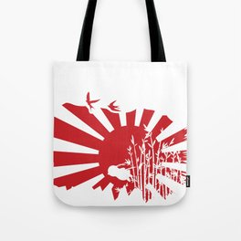 Penguin Bushido Tote Bag