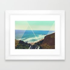 Oceans View Framed Art Print