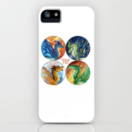 Wings of Fire - Heroes of the Lost Continent iPhone Case