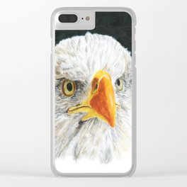 Bald Eagle by Teresa Thompson Clear iPhone Case