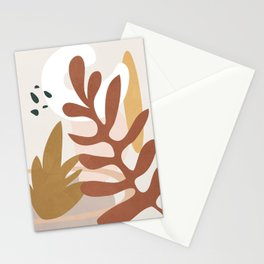 Abstract Plant Life II Stationery Cards