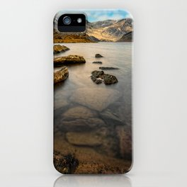 Ogwen Lake Snowdonia iPhone Case