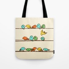 Hanging Out (multi-colored option) Tote Bag