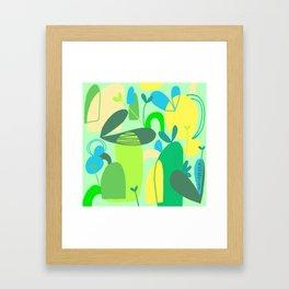 Field of Green Framed Art Print