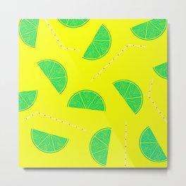 Summer Drinks - Lemonade Metal Print
