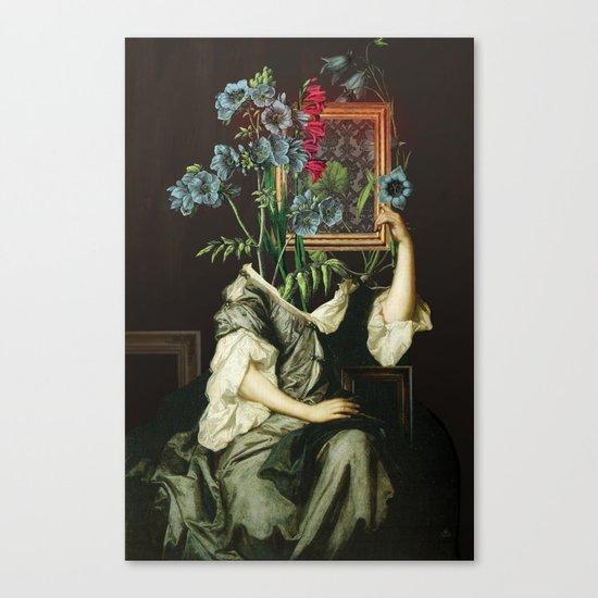 Florales Portrait Disaster Canvas Print