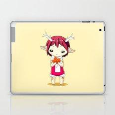 Deer Girl Laptop & iPad Skin