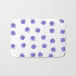 Purple Swirl Bath Mat