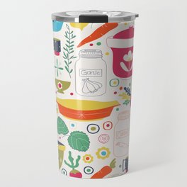 Eat Your Veggies! Travel Mug