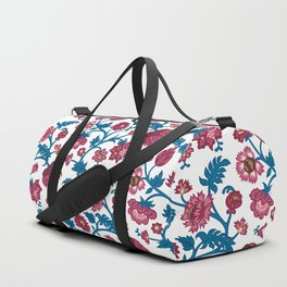 Rococo Floral Pattern #7 Duffle Bag