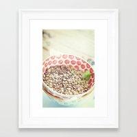 pasta Framed Art Prints featuring Pasta. by Luisa Morón-Fotografía