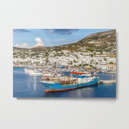 Gems of the Aegean Sea  Metal Print