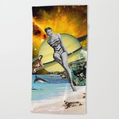 Cat Island Beach Towel