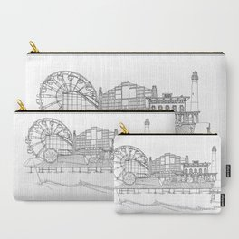 The Jersey Shore by the Downtown Doodler Carry-All Pouch