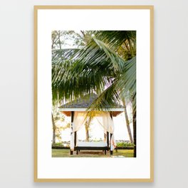 Canopy in Jamaica Framed Art Print