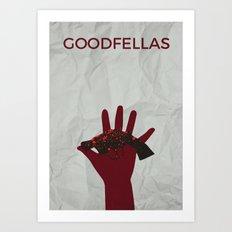 Goodfellas Alternative Poster - Gun Art Print