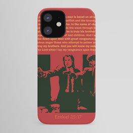 Ezekiel 25:17 iPhone Case