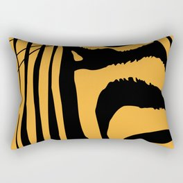 Zebra Pop-Art Rectangular Pillow