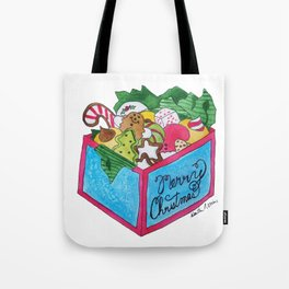 X is for Xmas Cookies Tote Bag