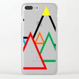 Campsite - Festival Clear iPhone Case