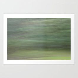 Green Whirlwind Art Print