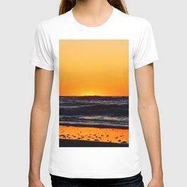 Orange Sunset on the Beach T-shirt