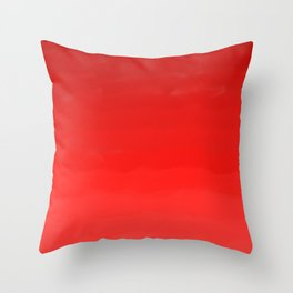 Glowing Red Lipstick Throw Pillow