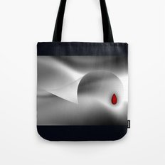 The red drop Tote Bag