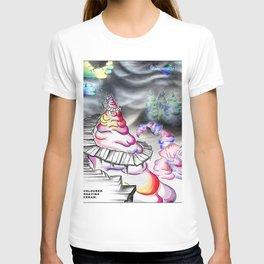 Coloured Shaving Cream - Whimsical T-shirt