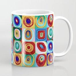 Colorful circles tile Coffee Mug