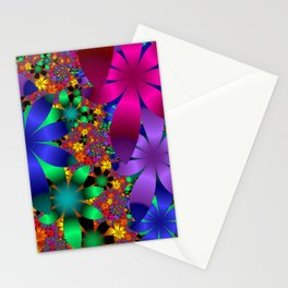 towel full of colors -a- Stationery Cards