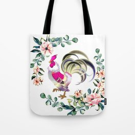 Decorate your home or office with one of our Rooster Gifts Tote Bag