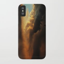 angry cloud iPhone Case