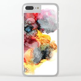 Finding The Sunshine Despite The Storm Clear iPhone Case