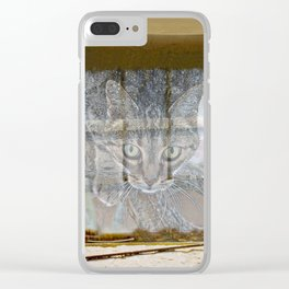 Let me in Clear iPhone Case