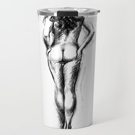Nude female figure Travel Mug