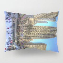 New York Ice Skating Pillow Sham