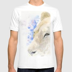Lioness SMALL White Mens Fitted Tee