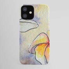 Plumerias iPhone Case